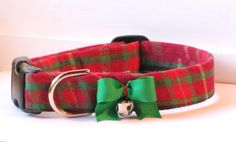 I could not pass by this Christmas plaid fabric and not have it!...and so I do ;) Doesn't it just exemplify the beauty and wonder of Christmas? And didn't I have to add that bright green bow and jingle bell?....Yes....yes I did :D