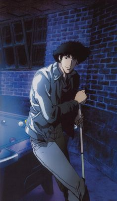 Cowboy Bebop - Spike Spiegel, Oddly reminds me of someone at work ♡