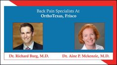 OrthoTexas, Frisco is a well-known group of spine specialists. They have extensive experience in treating various orthopedic conditions and injuries. The surgeons work along with the physical therapists and suggest various exercises to speed up recovery. To schedule an appointment with the spine specialists in Frisco, visithttp://backpainfriscotx.com