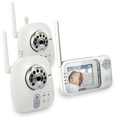 VTech VM321-2 Safe & Sound Video Baby Monitor with Night Vision and Two Cameras  from VTech. Rating 4.2/5 stars, 545 customer reviews