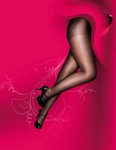 Pretty Polly - Plus size ladder resist tights for ladies with more - Curves Plus Size Tights, More Curves, Full Figured, Ladder, Stockings, Socks, Pretty, Vintage, Women