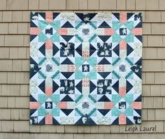 Fair isle quilt 2 - tutorial by karin jordan