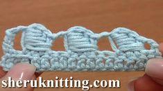 The Bullion Block Crochet Stitch Tutorial 40 Part 5 of 7 Made Around Thr...