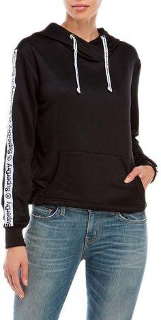 Superdry Fashion Fitness Crop Hoodie