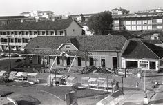 A demolição do boliche do Hotel Riograndense | Almanaque Gaúcho