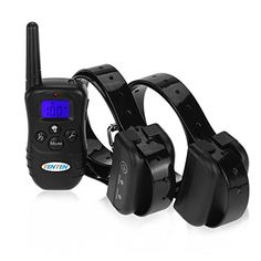 Best price on TENTEN 4 in 1 Wireless Rechargeable and Waterproof Dog Training Collar, Remote Control Pet Training Collars with Blue Backlight LCD Display and Backlight Buttons, Shock and Vibrate (for 2 Dogs)  See details here: http://allforpetsshop.com/product/tenten-4-in-1-wireless-rechargeable-and-waterproof-dog-training-collar-remote-control-pet-training-collars-with-blue-backlight-lcd-display-and-backlight-buttons-shock-and-vibrate-for-2-dogs/    Truly a bargain for the new TENTEN 4 in 1…