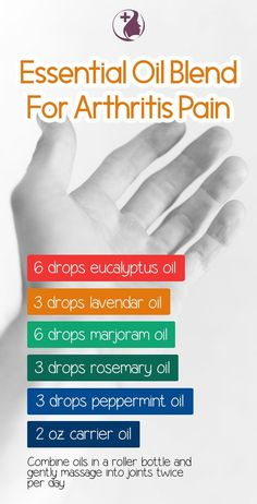 Learn about using these essential oils as natural pain relief for arthritis. Reduce the swelling and pain around your joints and improve your mood and overall h joint pain relief salve Essential Oils For Pain, Essential Oil Uses, Doterra Essential Oils, Natural Essential Oils, Young Living Essential Oils, Essential Oil Diffuser, Aromatherapy Recipes, Aromatherapy Oils, Roller Bottle Recipes