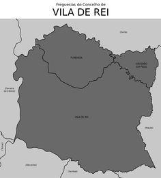 Freguesias do concelho de Vila de Rei