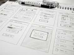Wireframe for a new something designed by Kerem Suer. Connect with them on Dribbble; the global community for designers and creative professionals. App Wireframe, Wireframe Design, Ios Design, Mobile Ui Design, Dashboard Design, Interface Design, User Interface, Graphic Design, Sketch Web Design