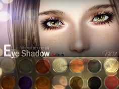 Hey everyone!  Found in TSR Category 'Sims 3 Eyeshadow'
