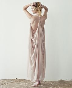 Grecian Dress: I bet i could make this