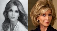 ✶ Jane Fonda, then and, um, maybe not quite now... maybe about 15 years ago...✶