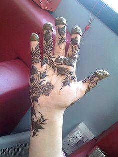 Khaleeji Henna Designs