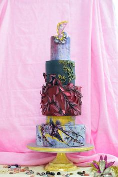 The Crystal Forest. - cake by divya saraf