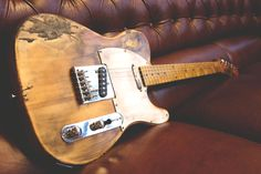 #Relic #Guitars The Hague Butterscotch Blond heavy relic'd #Telecaster…