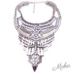 There will be so many gorgeous statement necklaces @mokaboutiqueaustralia #moka #móka #mokaboutique #mokaaustralia #mokaboutiqueaustralia #jewels #jewelry #jewellery #necklace #statementpiece #statementjewelry #statementnecklace #boho #bohemian #bohochic #bohostyle #aztec #silver #crystals #diamond #diamonds #fashion #style #boutique