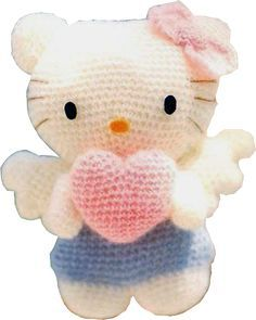 Amigurumi Hello Kitty Angel * Patron Gratis * Saekita Ganchillo