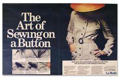 ButtonArtMuseum.com - La Mode