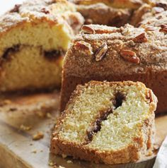 Sour Cream Coffee Cake is to die for! It's packed with cinnamon and sugar. Not a fan of nuts? Leave the pecans out, if you'd like.