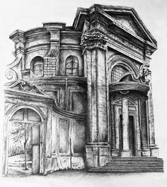 Sant Andrea al Quirinale by Elle-Alyssa.deviantart.com on @DeviantArt
