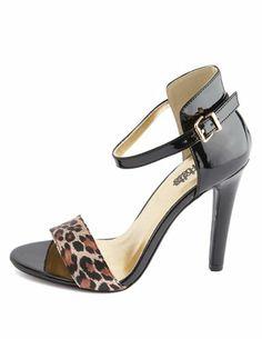 Ankle-Strap Single Sole Heel: Charlotte Russe
