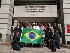 Visita téncia à Boston University
