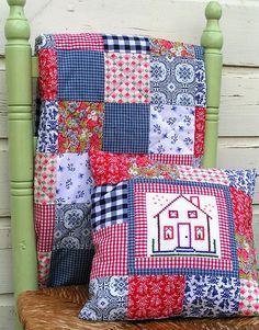 Cushion & Quilt