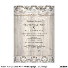 Rustic Vintage Lace & Wood Bachelorette Party X Invitation Card Country Wedding Invitations, Bachelorette Party Invitations, Beautiful Wedding Invitations, Rustic Invitations, Wedding Invitation Design, Shower Invitations, Invitations Online, Invitation Paper, Invitation Ideas