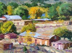 Artist: Walt Gonske - Title: Rio Grande at Pilar