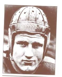 Bronko Naguski of the Chicago Bears, toughest player in the infant NFL in the 1930s