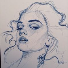 Beautiful sketches and paintings by Richard Salcido