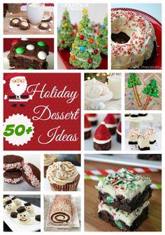 50+ Holiday Dessert Ideas
