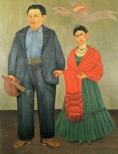 Frida y Diego Rivera .