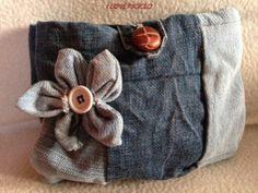 Borsellino jeans mare