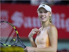 Caroline Wozniacki isn't just one of the best tennis players in the world, but she's also one of the world's hottest. Wozniacki has been ranked no. 1 in 2010 and has won 20 WTA singles titles along with two doubles titles. There are only a few female athletes as sexy and fun to watch as Carol...