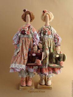 Куклы Тильды ручной работы. Пульхерия, швейная бохиня. Юлия Чарикова…