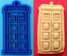 """$6.50 """"Doctor Who Cookie Cutters: Timey Wimey Tasty Wasty"""" and the Dalek is awesome too!"""