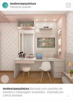 Cute Room Decor, Teen Room Decor, Home Office Decor, Room Decor Bedroom, Home Decor, New Bedroom Design, Teen Bedroom Designs, Home Room Design, Pinterest Home