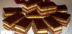 Érdekel a receptje? Kattints a képre! Hungarian Desserts, Hungarian Cake, Hungarian Recipes, Tiramisu, Goodies, Yummy Food, Sweets, Candy, Chocolate