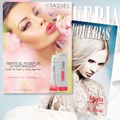 TASSEL visto en #revistapeluquerias #PHSSALON522BIS Contacta +34 93 274 07 84 tasselcosmetics.com