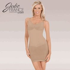 Seamless ULTRALIGHT Léger Cami Dress Shaper Shapewear . Visit this link for more -  http://shrsl.com/?~4302  Only $59.93