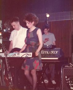 Gillian Gilbert, Bernard Sumner and Stephen Morris 80s Music, Music Icon, Gillian Gilbert, Epic Kids, Disco Funk, Music Aesthetic, Gothic Rock, Joy Division, Northern Soul