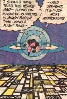 legion of super heroes : flying