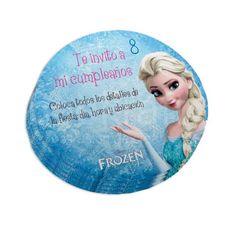 Personaliza las estas invitaciones de Frozen para el cumple de tu nena, e imprimelas tu mism@. Las conseguirás en www.beekrafty.com en la sección de Tarjetas de Cumpleaños. Que las disfrutes! #beekrafty #pasionporcrear