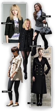 I really like these coats!