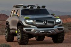 Mercedes-Benz G-Class gets makeover, new models Mercedes Concept, Mercedes Benz G Class, Merc G Class, Merc Benz, Best Suv, Suv Cars, Luxury Suv, Custom Trucks, 4x4 Trucks