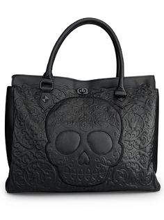 """Black on Black Skull Lattice""   Hope it will be back in stock soon. Actually need a new purse and this one is perfect."