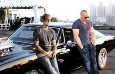 The photo pays homage to Diesel and Walker's friendship that blossomed after co-starring together in the 'Fast & Furious' franchise.