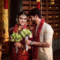 Most Gorgeous South Indian Brides We've Seen Indian Photoshoot, Pre Wedding Photoshoot, South Indian Weddings, South Indian Bride, Indian Wedding Photography Poses, Photography Couples, Cute Celebrity Couples, Indian Bridal Fashion, Wedding Couples