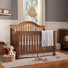 DaVinci Clover 4-in-1 Convertible Crib in Chestnut